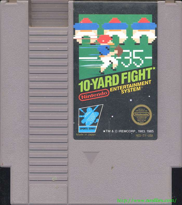 10 Yard Fight For NES