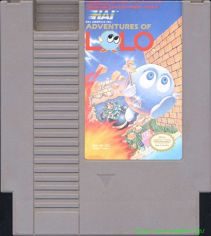 Adventures Of Lolo For Nes The Nes Files