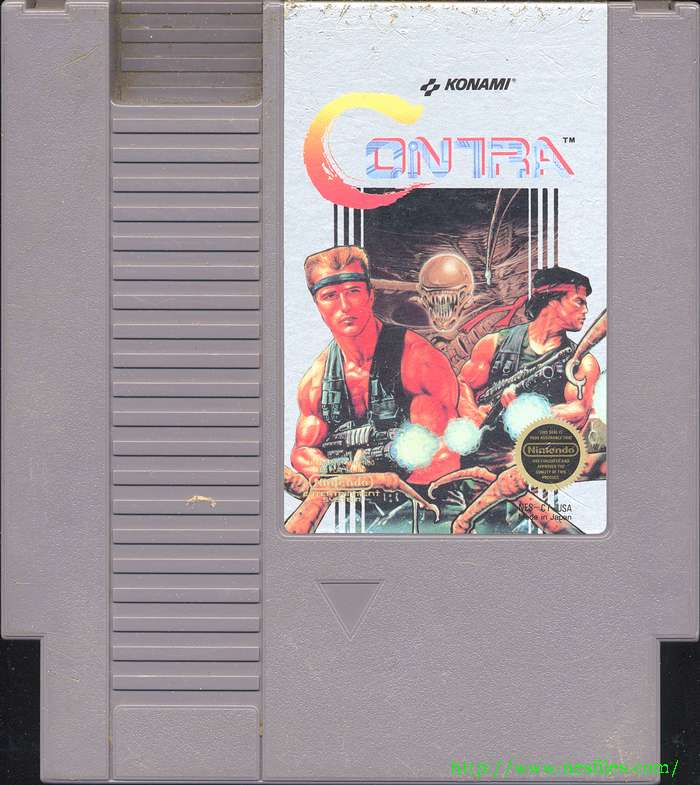 Contra for NES - The NES Files