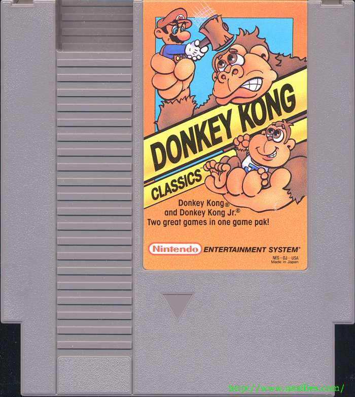 donkey kong classics for nes the nes files. Black Bedroom Furniture Sets. Home Design Ideas