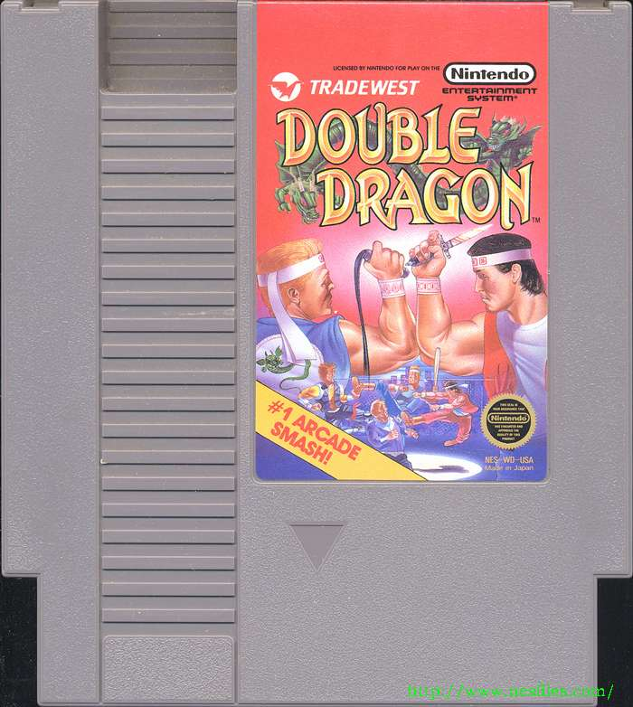 Double Dragon For Nes The Nes Files