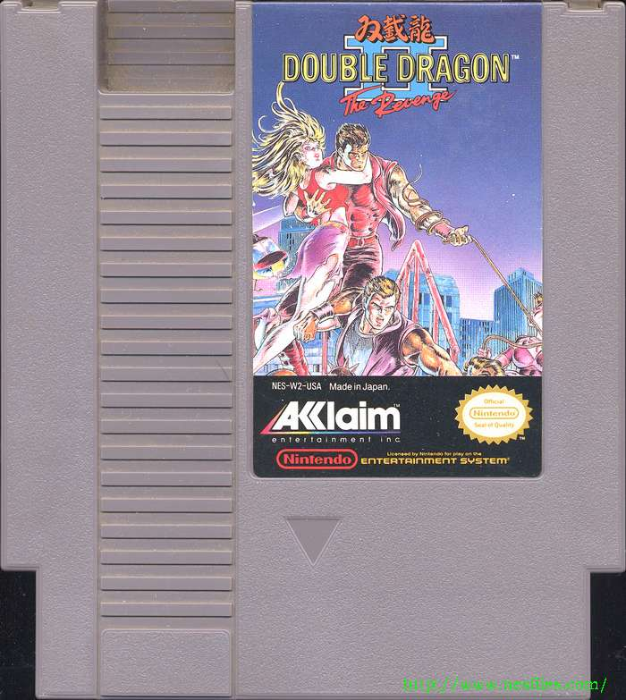 Double Dragon Ii For Nes The Nes Files