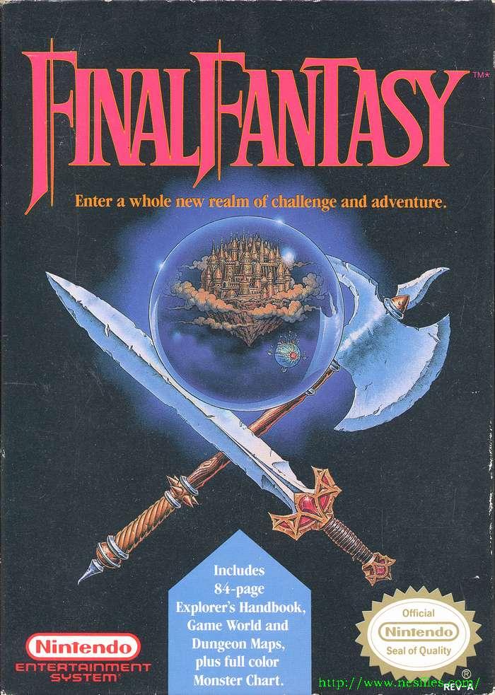 Final Fantasy for NES - The NES Files
