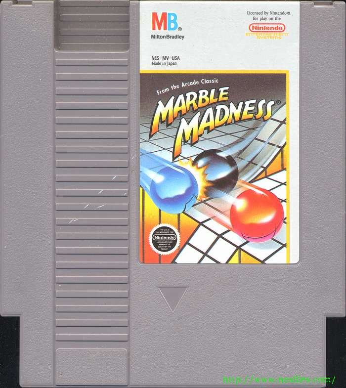 Marble Madness For Nes The Nes Files
