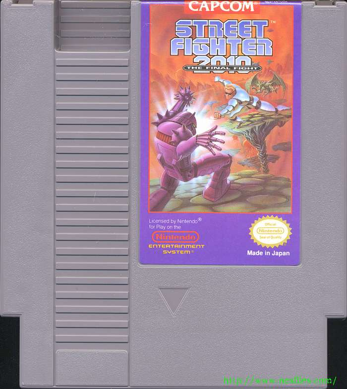 Street Fighter 2010 For Nes The Nes Files