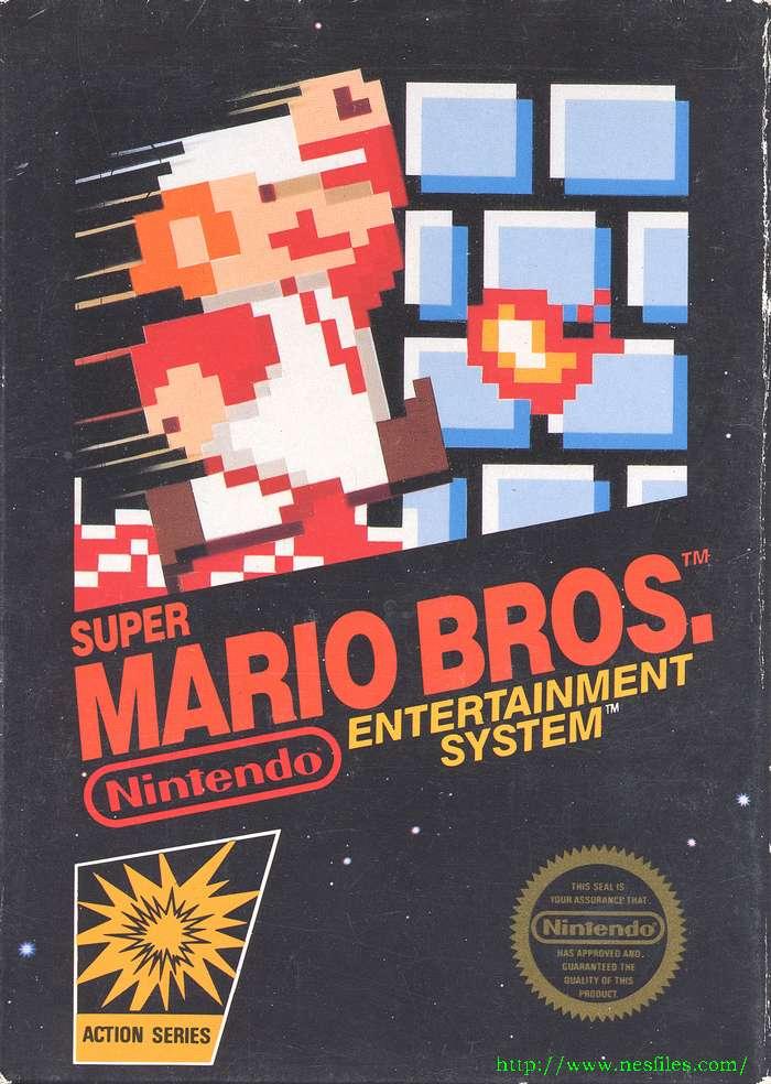 Super Mario Bros For Nes The Nes Files
