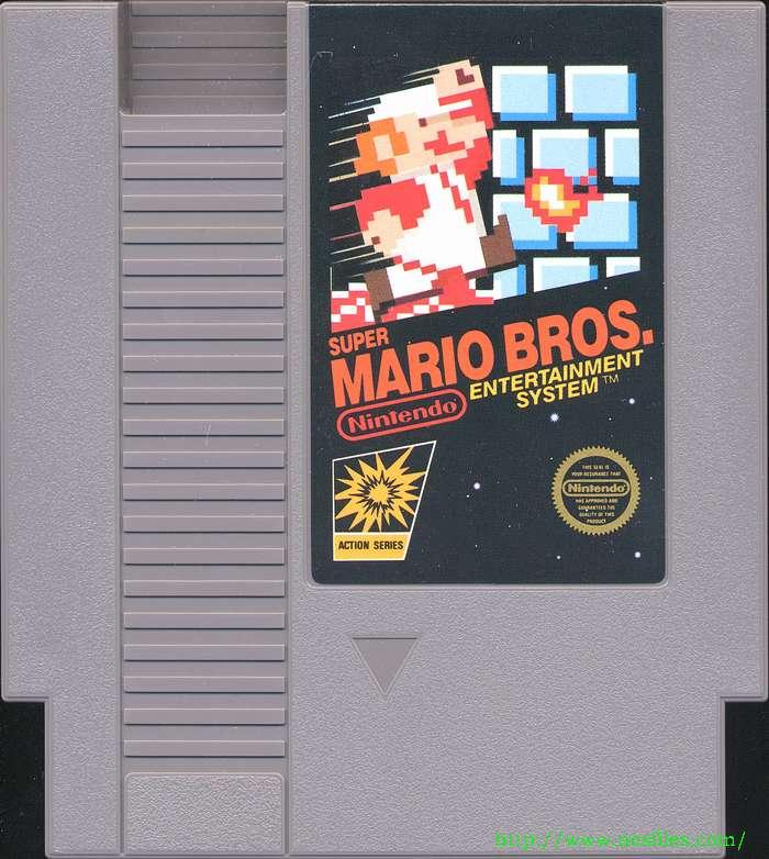 Super mario bros. For nes the nes files.