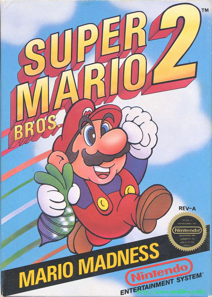 Super Mario Bros 2 For Nes The Nes Files