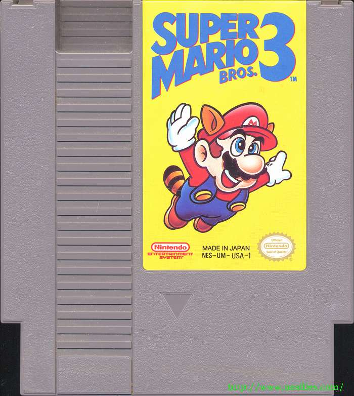 Super Mario Bros 3 For Nes The Nes Files