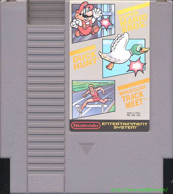 super mario bros duck hunt track meet online
