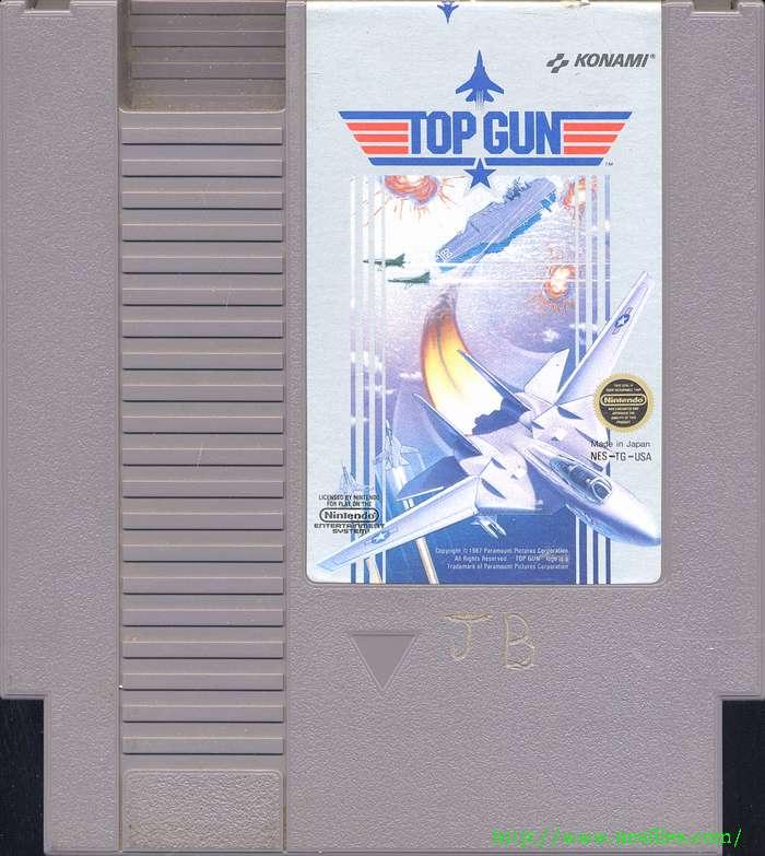 Top Gun For Nes The Nes Files