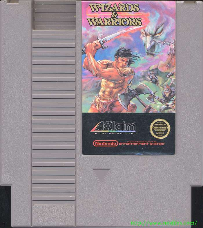 Wizards and warriors for nes the nes files for Wizards warriors
