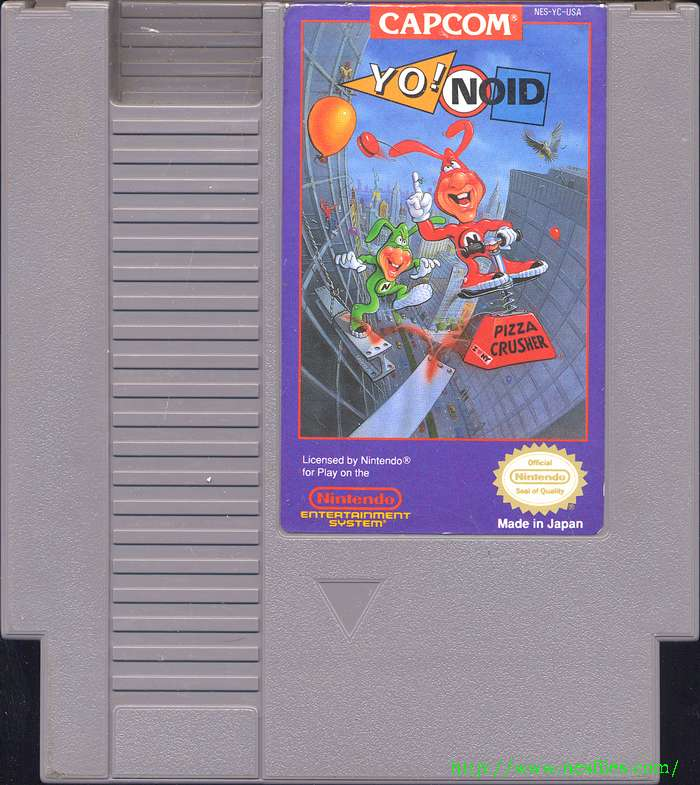 Yo Noid for NES - The NES Files